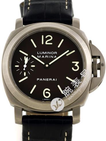 沛纳海Luminor系列PAM00061黑色表盘