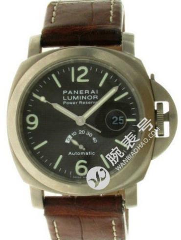 沛纳海Luminor系列PAM00057黑色表盘
