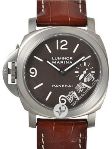 沛纳海Luminor系列PAM00056黑色表盘