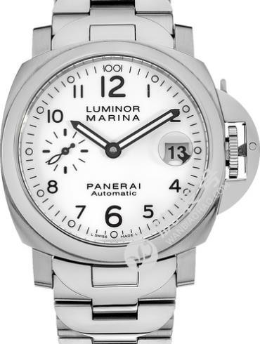 沛纳海Luminor系列PAM00051白色表盘