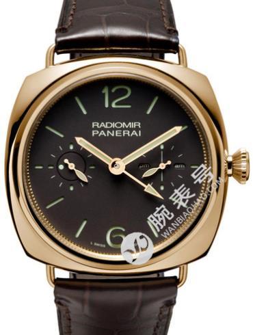 沛纳海Radiomir系列PAM00330棕色表盘