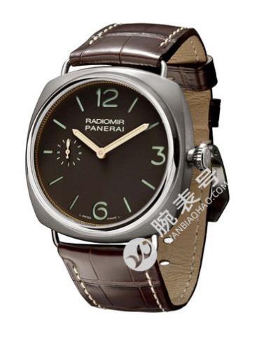 沛纳海Radiomir系列PAM00322棕色表盘