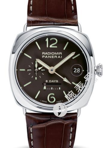 沛纳海Radiomir系列PAM00201棕色表盘