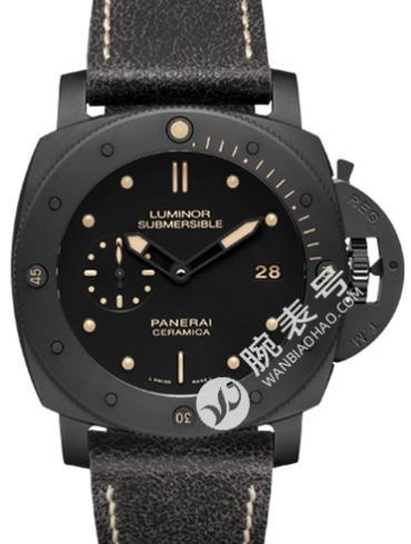 沛纳海Radiomir系列PAM00508黑色表底盖