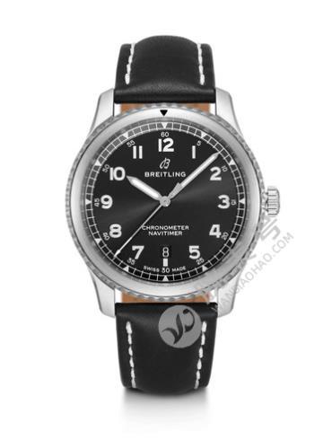百年灵航空计时8自动机械腕表41A17314101B1X1黑色表带