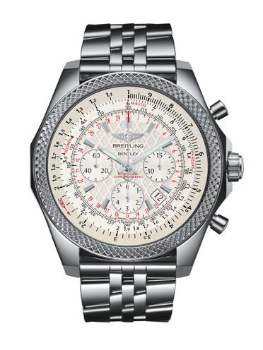 百年灵宾利B06计时腕表AB061112/G802/990A银色表带