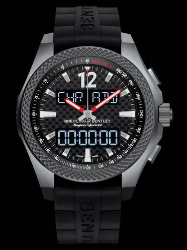 百年灵宾利系列EB552022/BF47/285S/E20DSA腕表黑色表底盖