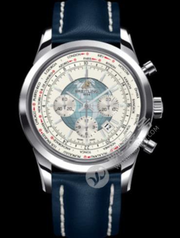 百年灵越洋GMT计时腕表系列AB0510U0/A732表经46mm