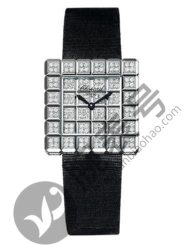 萧邦ICE CUBE系列136690-1001黑色表带