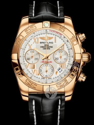 百年灵机械计时41腕表系列HB0140AA/G759黑色表带
