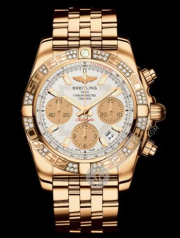 百年灵机械计时41腕表系列HB0140AA/G713香槟色表带