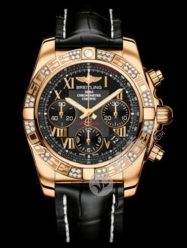 百年灵机械计时41腕表系列HB0140AA/BC08黑色表壳