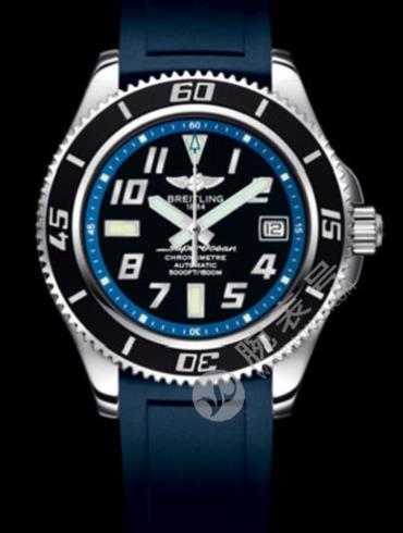 百年灵超级海洋42腕表系列A1736402/BA30蓝色表盘