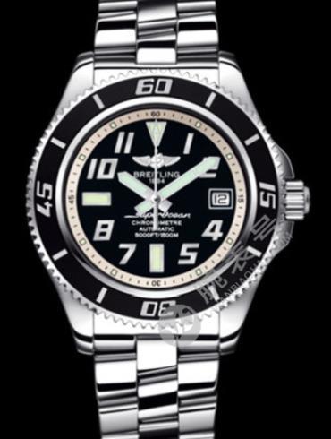 百年灵超级海洋42腕表系列A1736402/BA29银色表盘