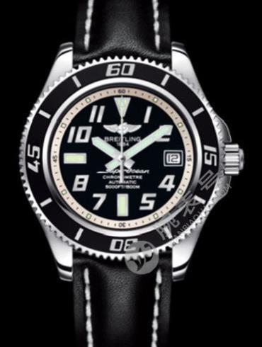 百年灵超级海洋42腕表系列A1736402/BA29黑色表盘