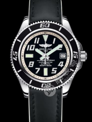 百年灵超级海洋42腕表系列A1736402/BA29黑色表带