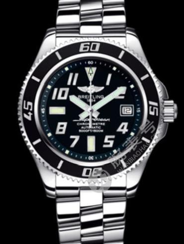 百年灵超级海洋42腕表系列A1736402/BA28银色表壳