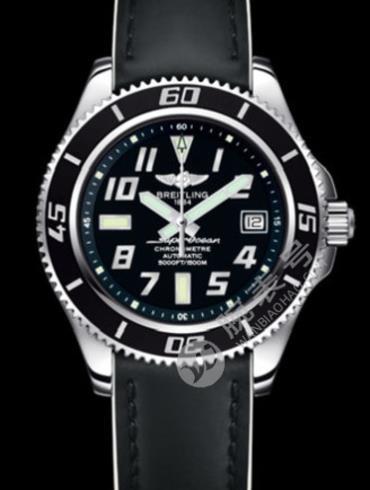 百年灵超级海洋42腕表系列A1736404/BA29黑色表底盖