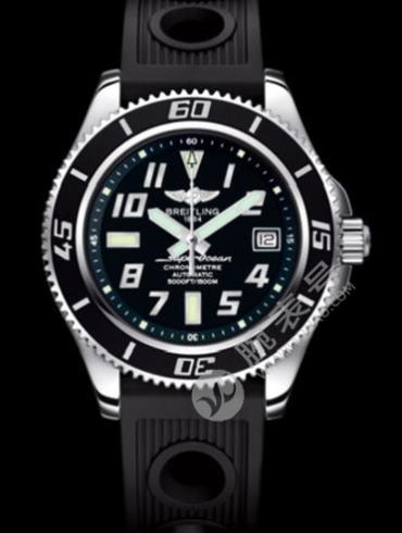 百年灵超级海洋42腕表系列A17364023/BA28黑色表底盖