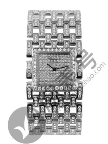 萧邦ICE CUBE系列106971-1001银色表壳