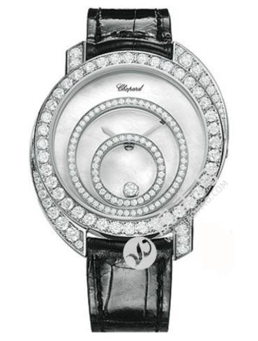 萧邦HAPPY DIAMONDS系列207154-1002银白色表盘