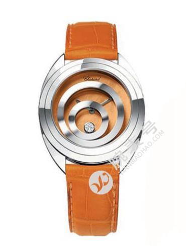 萧邦HAPPY DIAMONDS系列207060-1001橙色表盘