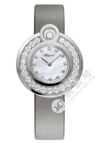 萧邦HAPPY DIAMONDS系列204407-1002银白色表盘