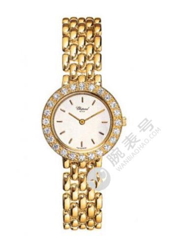 萧邦HAPPY DIAMONDS系列106206-0001金色表带