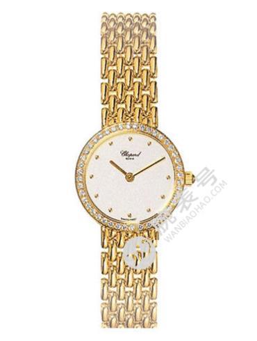 萧邦HAPPY DIAMONDS系列105911-0001金色表带