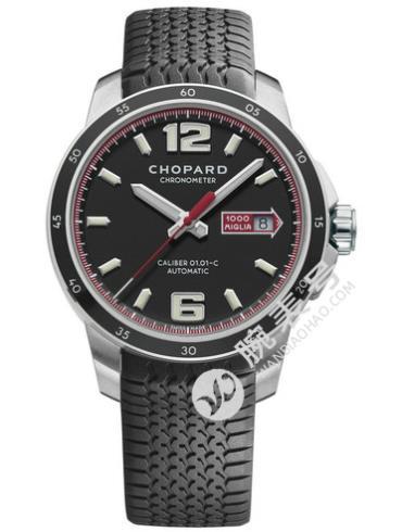 萧邦经典赛车系列168565-3001黑色表盘