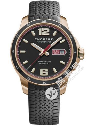 萧邦经典赛车系列161295-5001黑色表盘