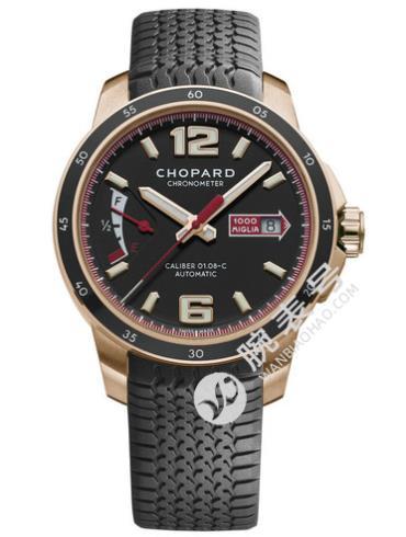 萧邦经典赛车系列161296-5001黑色表盘