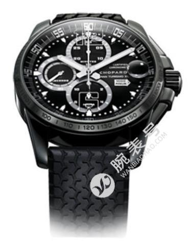 萧邦经典赛车系列168459-3008黑色表盘