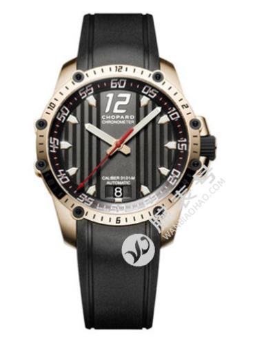 萧邦经典赛车系列161290-5001黑色表带