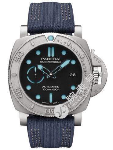 沛纳海Submersiblei潜行系列 PAM00985环保钛合金表扣