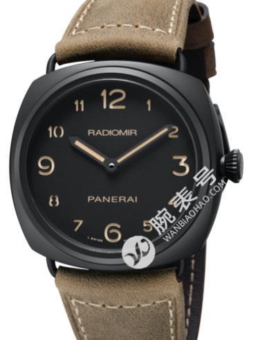 沛纳海Radiomir欧洲专卖店限量款陶瓷腕表PAM00613