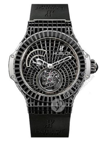 ONE MILLION系列系列腕表302.WX.9100.RX.9900黑色表底盖