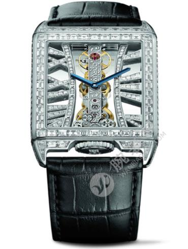 昆仑金桥长方形钻石腕表B113/03306