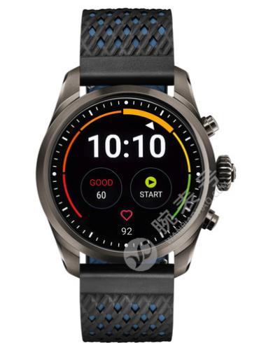 万宝龙智能腕表SUMMIT2系列钛金属表123854黑色表带