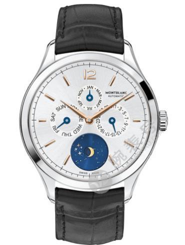 万宝龙传承精密计时系列U0112536精钢表扣