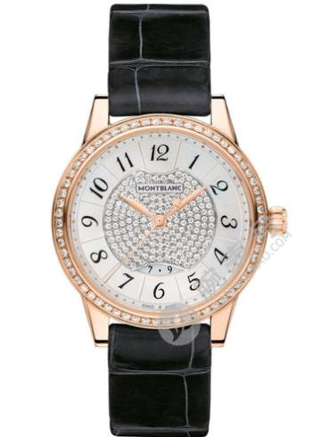 万宝龙宝曦系列U0111225珠宝黑色表带