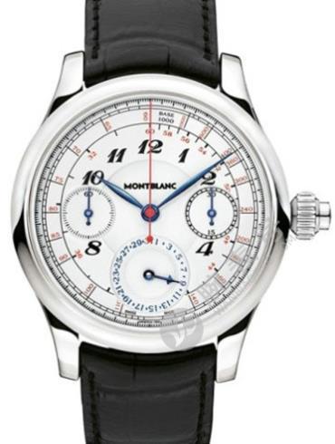 万宝龙维莱尔1858系列测速日历计时码表U0107341