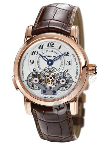万宝龙尼古拉斯凯世系列105920玫瑰金表扣