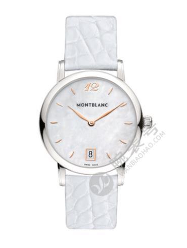 万宝龙明星经典系列U0108765女士白色表带