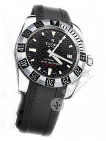 帝舵海洋王子系列20040-RS黑色表盘