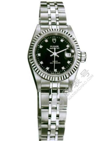 帝舵Heritage Advisor系列92414-6243010DI黑色银色表带