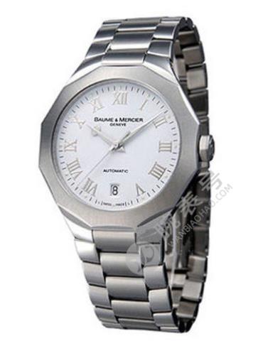 名士Riviera系列08759银白色表盘