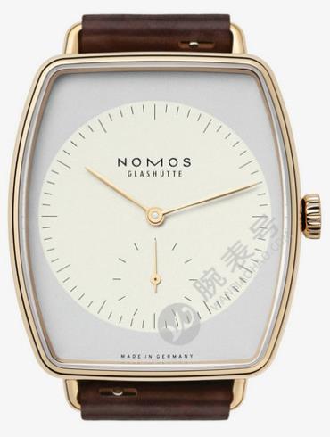NOMOS-Lux Hermelin940腕表白色表底盖