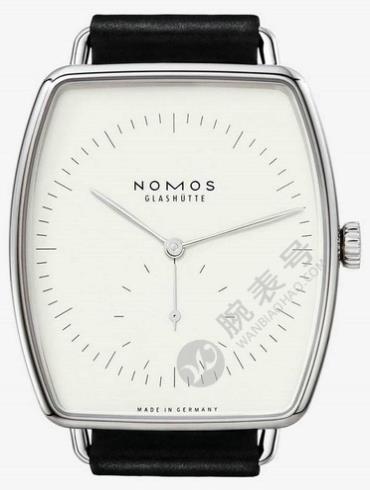NOMOS-Lux white gold light921腕表白色表底盖