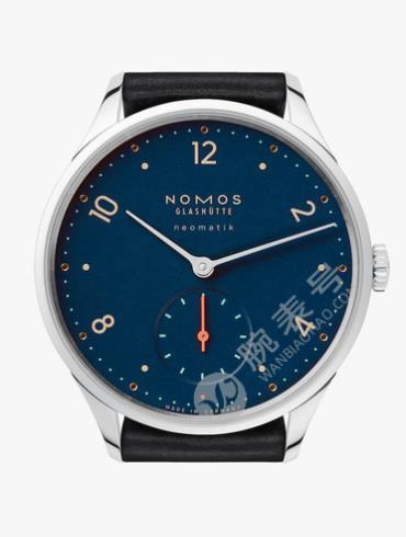 NOMOS-Minimatik midnight blue1205腕表蓝色表底盖